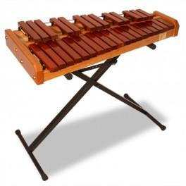 Clavier padouk - Accord marimba TJ25PB